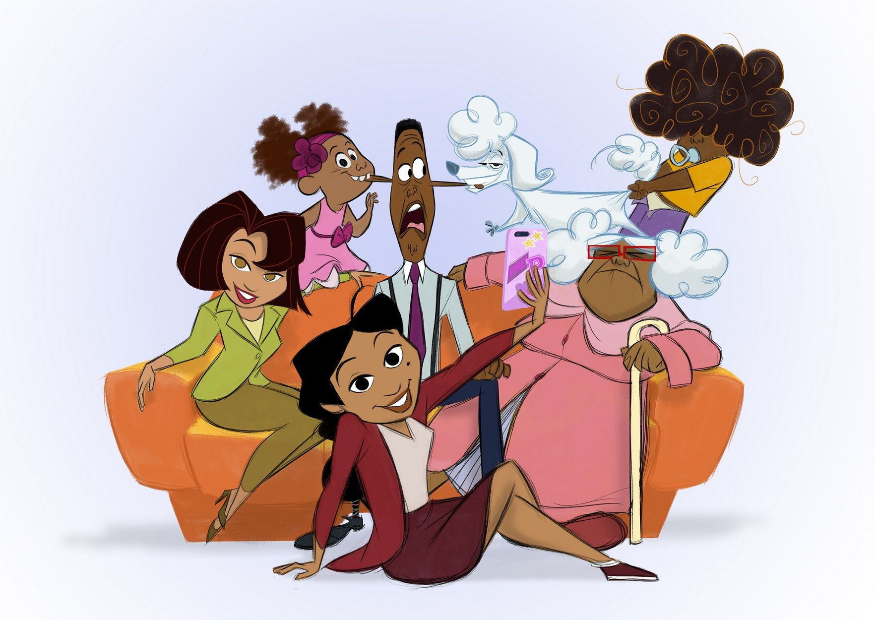 The Proud Family Revival Gets Billy Porter and Zachary Quinto for Disney+ Series