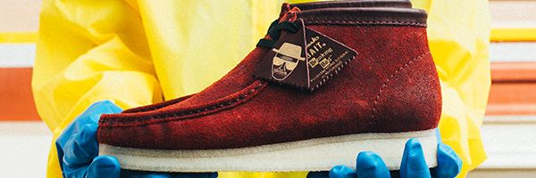 Breaking Bad Shoes Coming from Bait