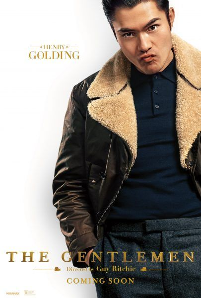 Charlie Hunnam The Gentlemen Movie 2020 48x32 24x36 Silk Poster G-174