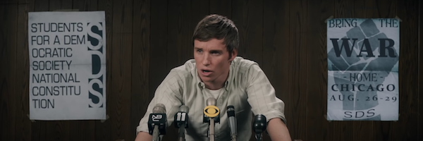 Eddie Redmayne on The Trial of the Chicago 7 and Timeliness of the Story
