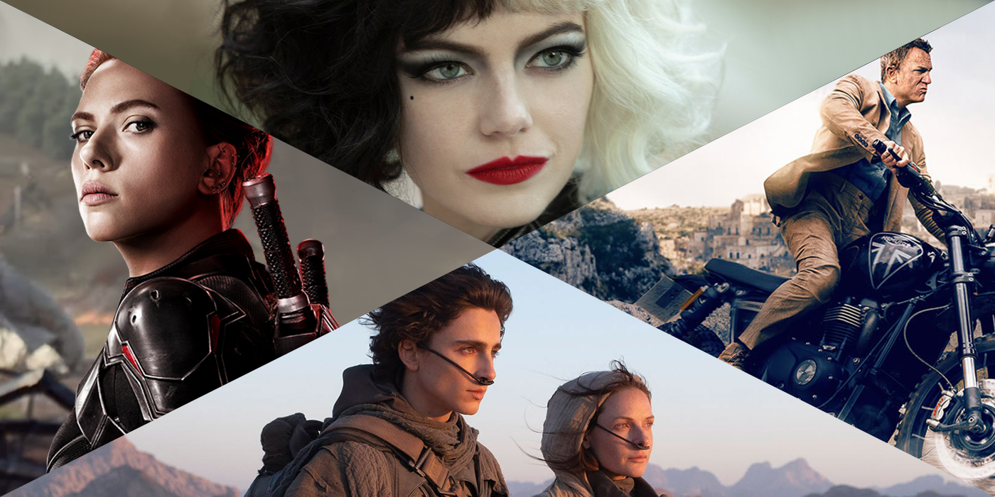Upcoming New Movies: 2021 Release Date Calendar