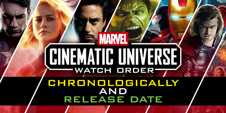 Marvel Movies In Order How To Watch Chronologically Or By Release Date