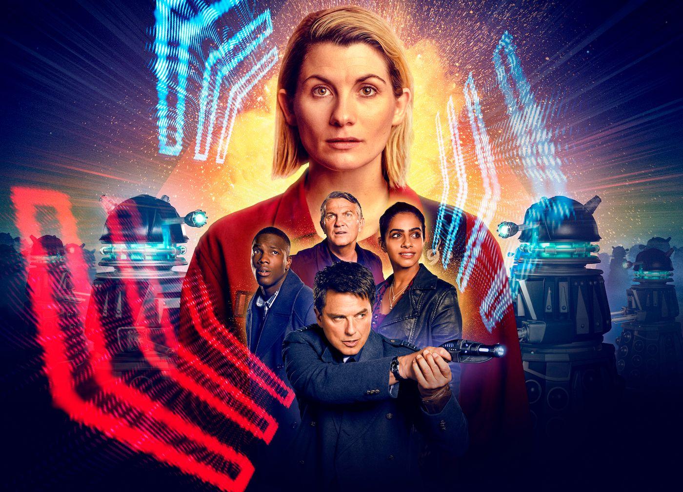 Trailer especial de férias de 'Doctor Who' revela data de lançamento de 2021 grandes surpresas do elenco e Daleks do mal 1