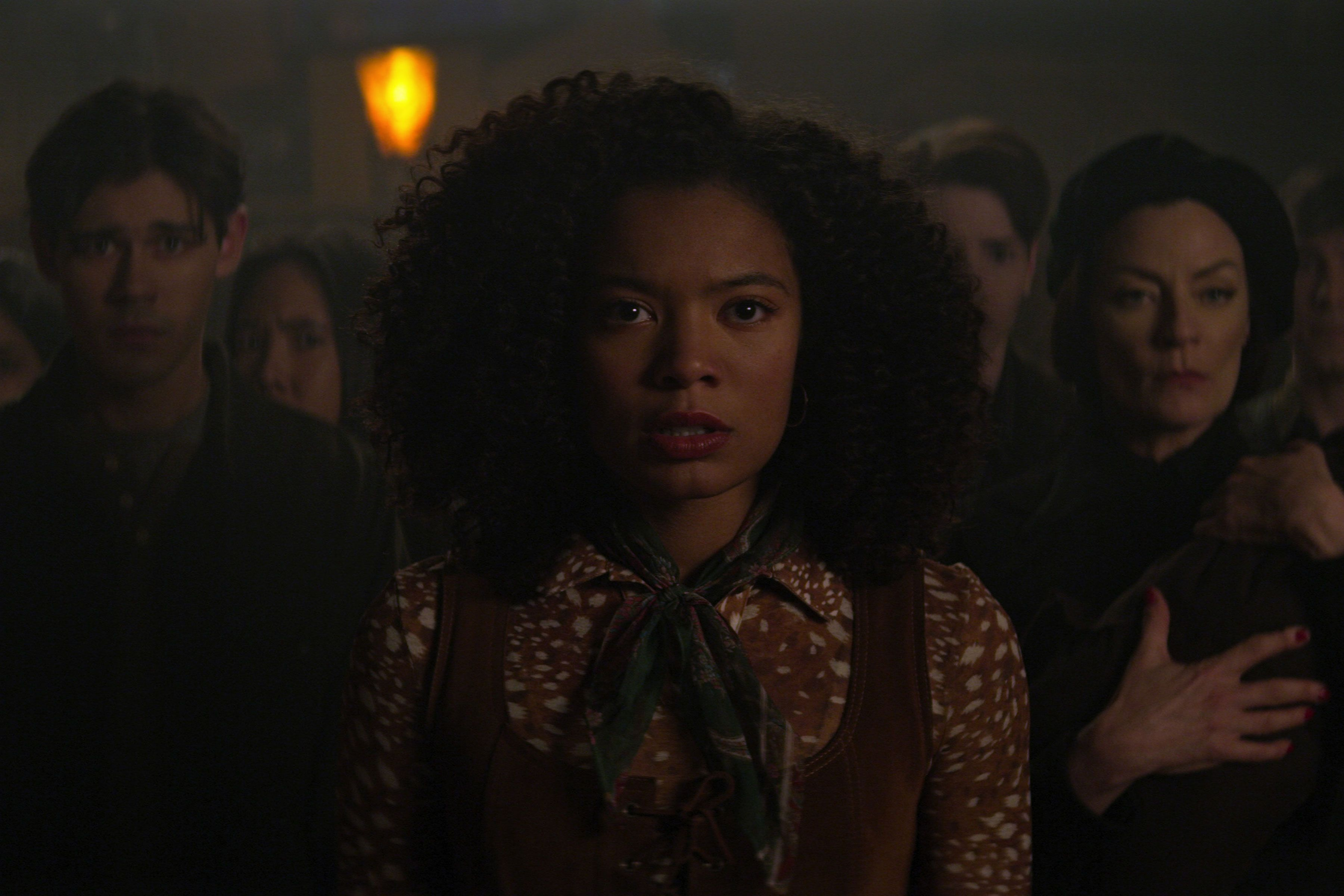 Chilling Adventures of Sabrina Part 4 Jaz Sinclair on That Big Roz Reveal