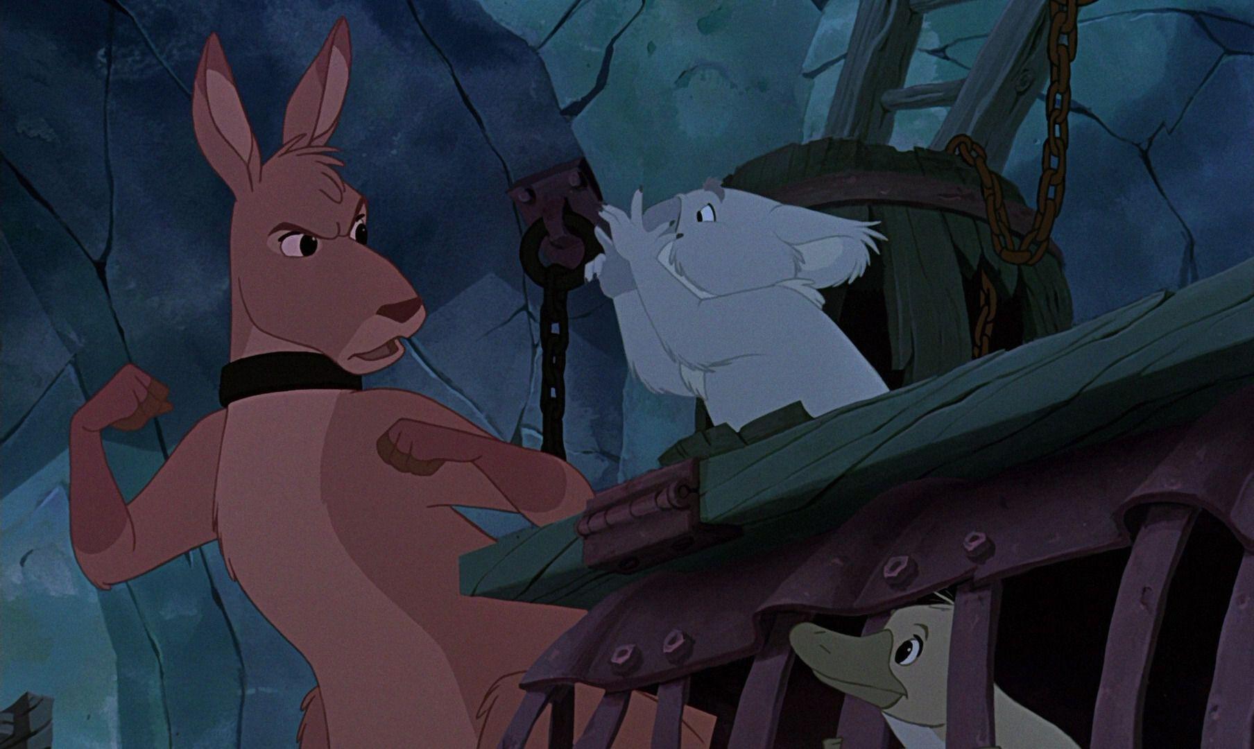 'The Rescuers Down Under' Bernardo e Bianca na Terra dos Cangurus: A história não contada de como a sequência mudou a Disney para sempre 10