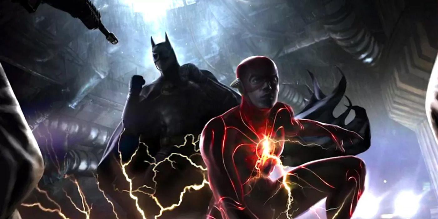 The Flash Movie Set Photo Teases Michael Keaton's Batman