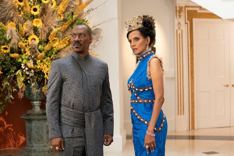 Lançadas as primeiras imagens de 'Coming 2 America' 'Um Príncipe em Nova York 2': Apresentam Eddie Murphy e Arsenio Hall 3