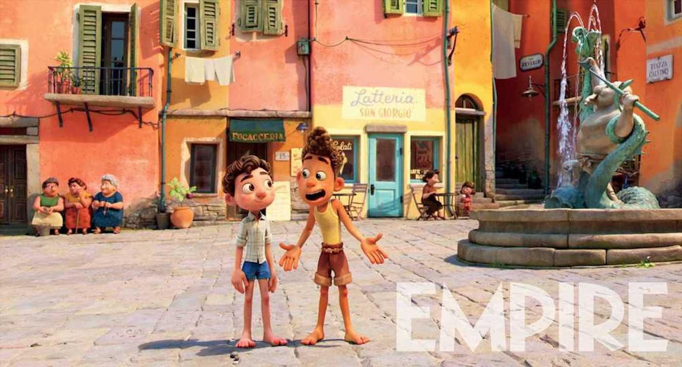 Luca: Pixar's Next Movie Shares New Image Featuring Two Friends