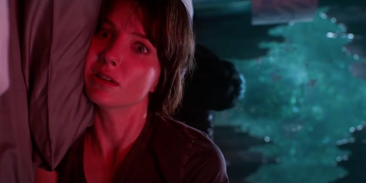 Análise inicial 'Malignant': Annabelle Wallis acorda com medo no novo filme de James Wan 1