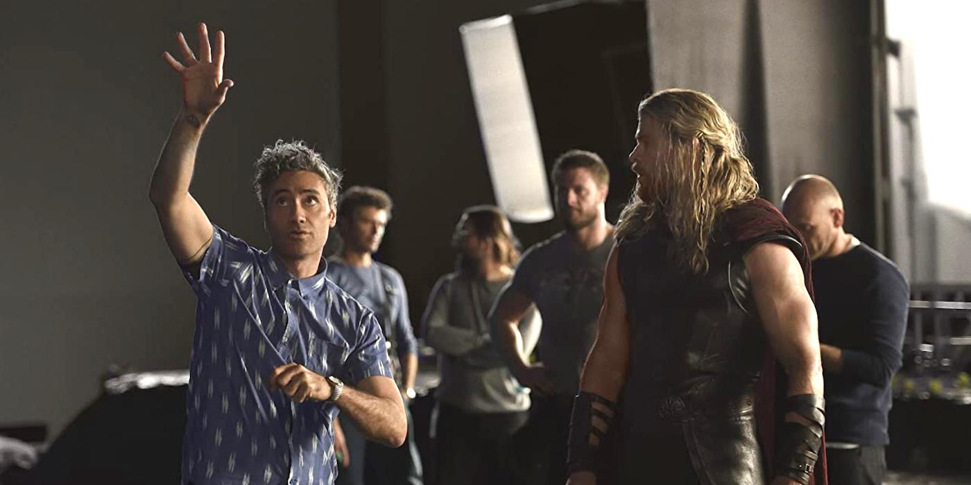 Chris Hemsworth Shares Thor Love and Thunder Set Image