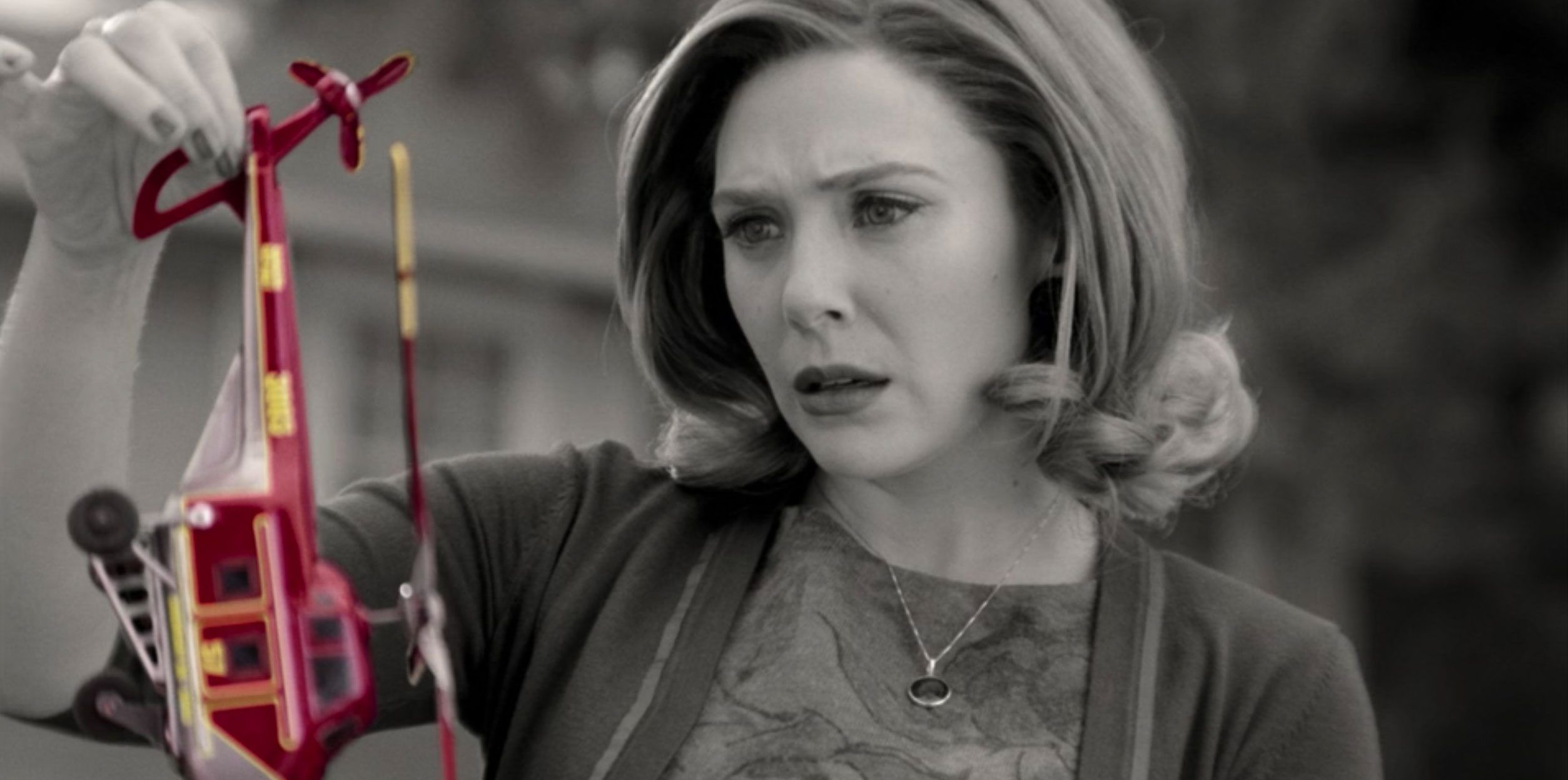 WandaVision: Elizabeth Olsen on New Version of Wanda & Use of Tension