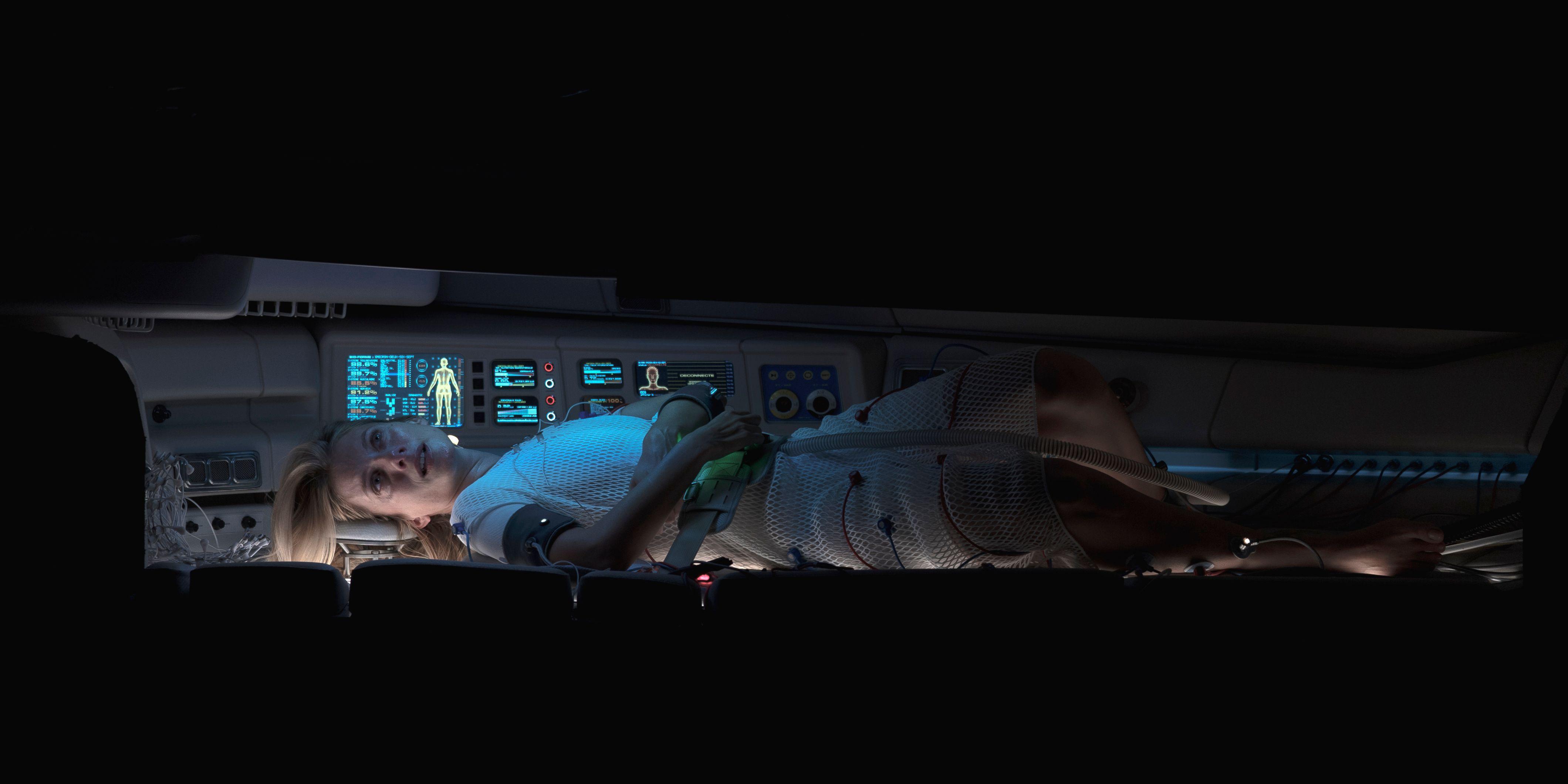 Mélanie Laurent Needs Oxygen in New Netflix Horror Movie Images
