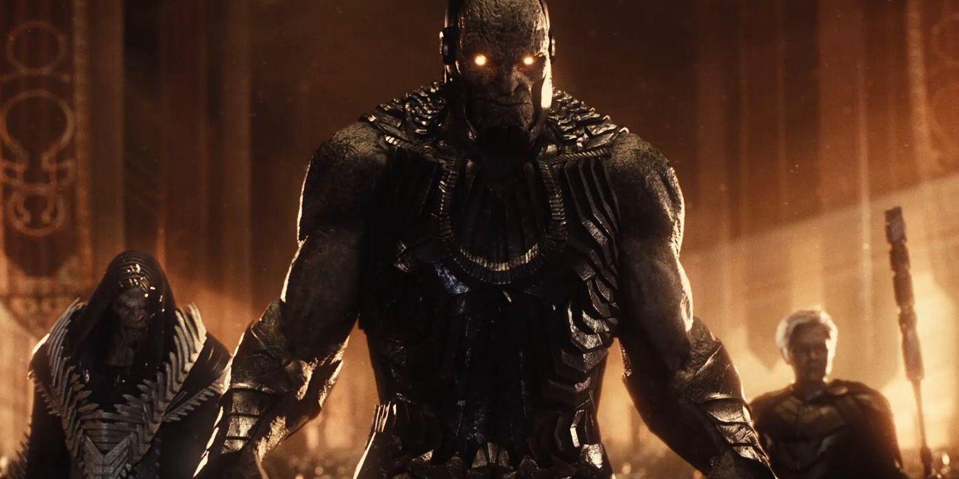 Justice League: Snyder Cut Twitch Trailer Reveals New Darkseid Footage