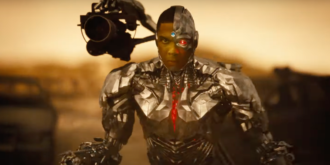 Cyborg Takes Center Stage in Zack Snyder's Justice League Teaser Trailer