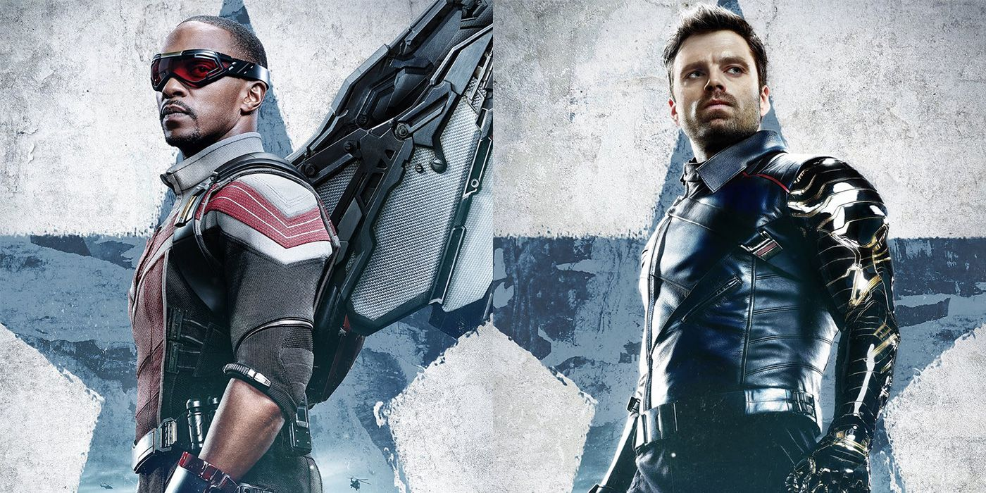 'The Falcon and the Winter Soldier' Flies in Four New Character Posters for the Disney+ Series