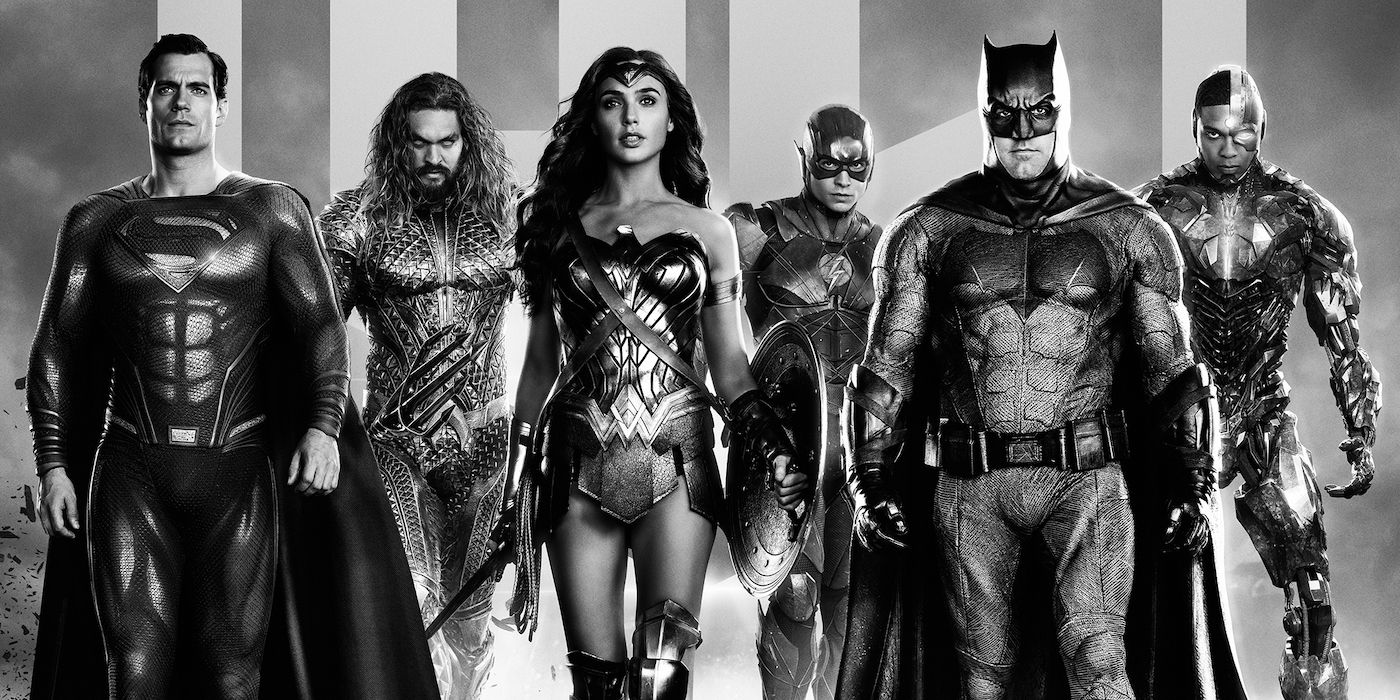 Zack Snyder's Justice League: New Clip Teases Black-and-White Version