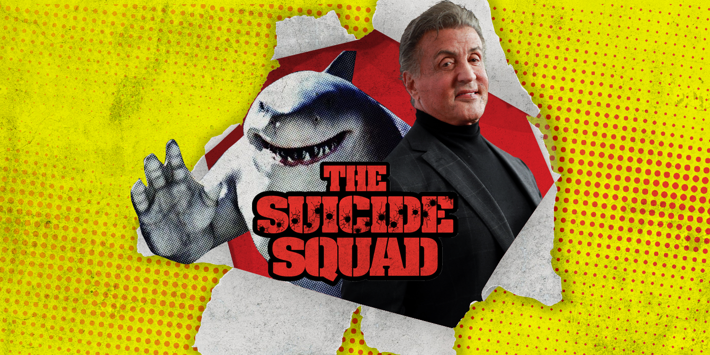 The Suicide Squad King Shark Actor Confirmed as Sylvester Stallone