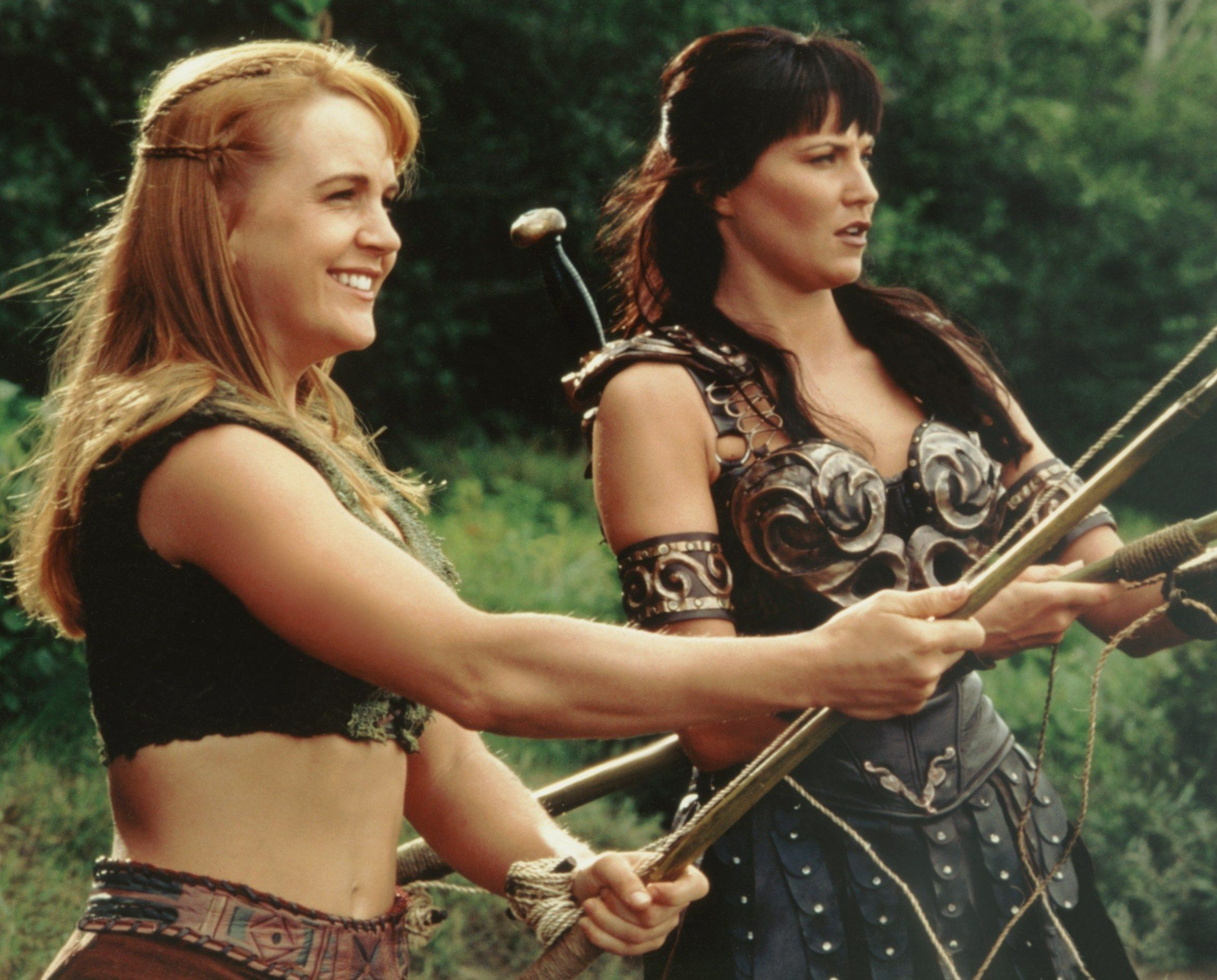 """Lucy Lawless on Embracing the """"Cheese"""" of Xena"""