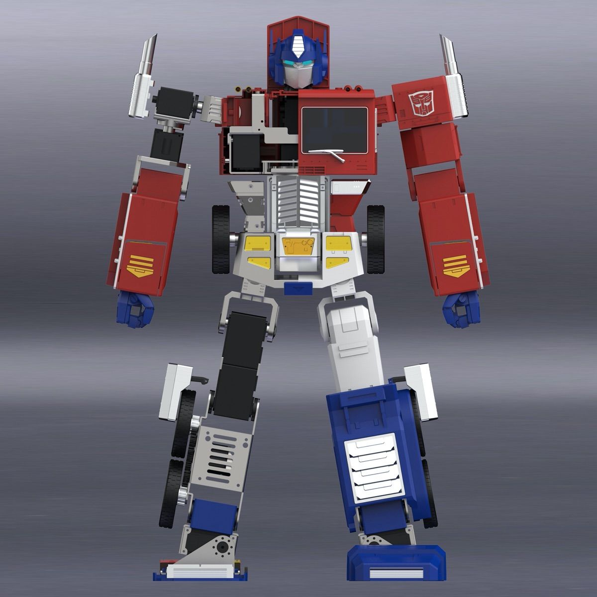 You Need to See This New Optimus Prime Figure That Can Self Transform