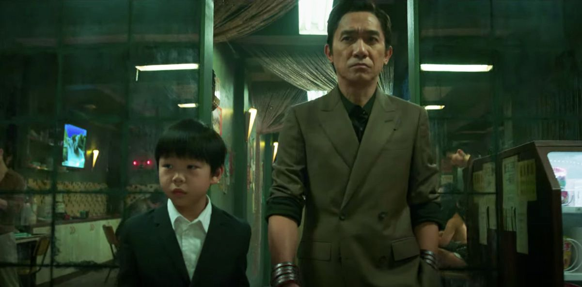 New Shang-Chi and The Legend of The Ten Rings Poster Pits Father Against Son