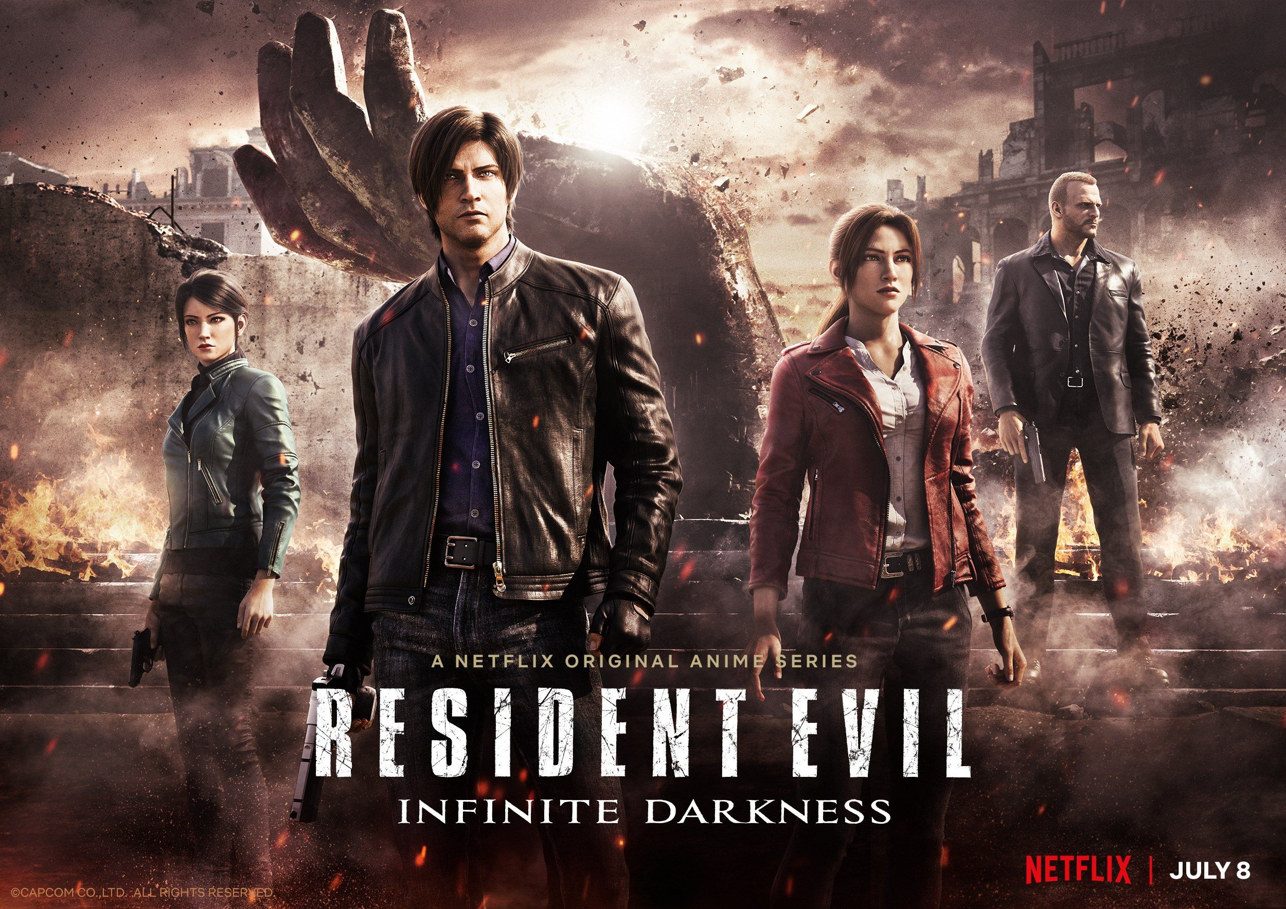 Resident Evil: Infinite Darkness Opening Scene Takes Us Straight Into the War