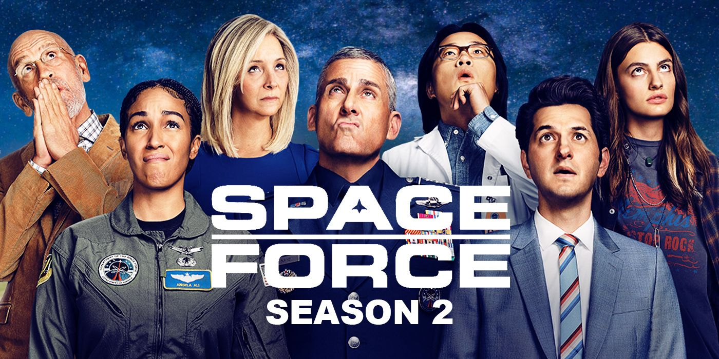 Space Force Season 2 Set Image Reveals Netflix Show Is Back in Production
