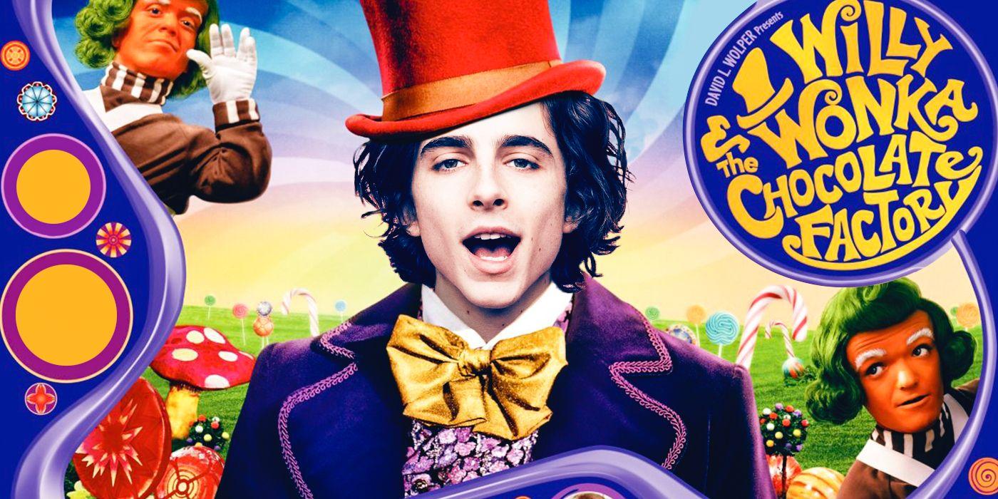 Timothée Chalamet Reveals Wonka First Look in Prequel Movie
