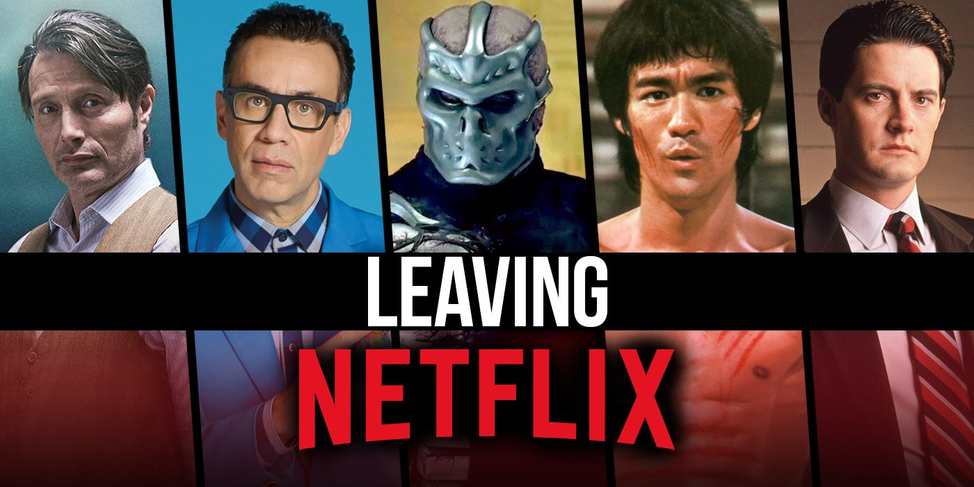 Movies and Shows Leaving Netflix in June 2021