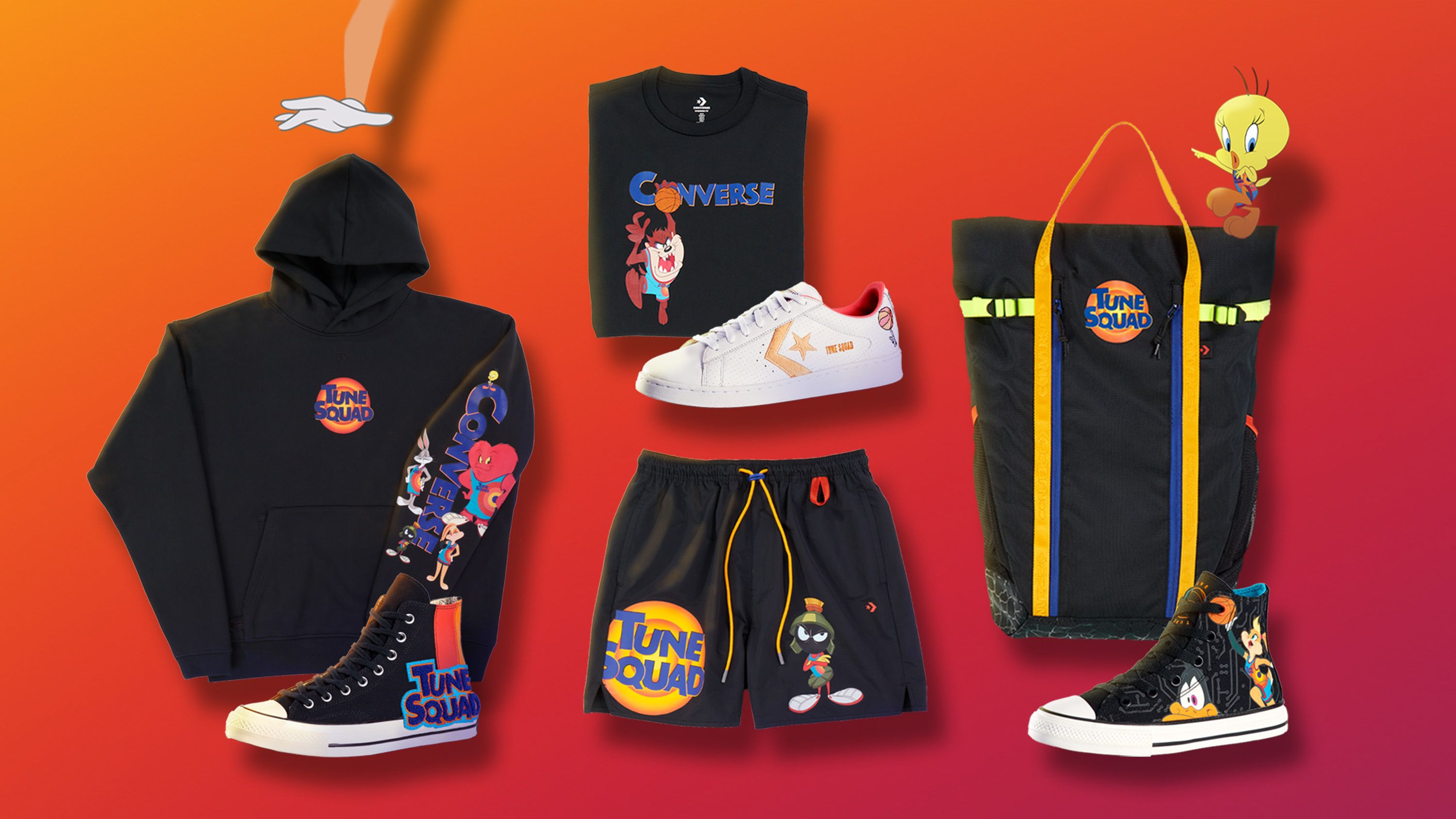 Space Jam 2 Gets New LeBron James Poster, Themed Nike and Converse Sneakers