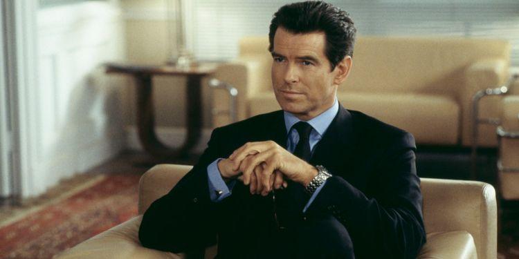Pierce Brosnan as Bond explained in James Bond Timeline