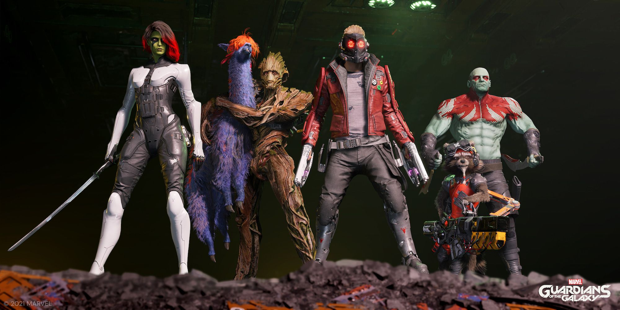 Everything We Know About the Guardians of the Galaxy Game