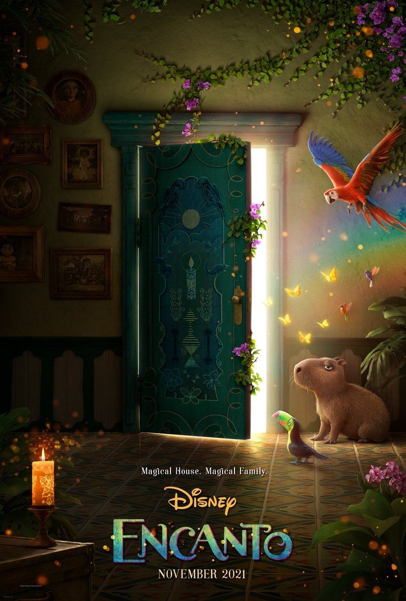 Disney's Encanto Gets Its First Poster Ahead of Trailer Release