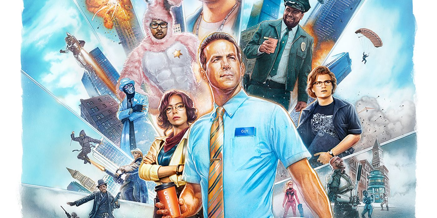 Free Guy IMAX Poster Promises Another Wild Ryan Reynolds Movie - Global  Circulate