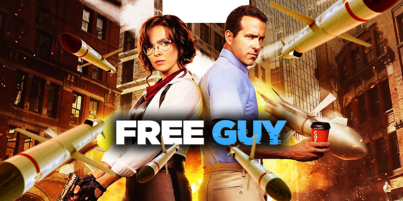 Ryan Reynolds and Jodie Comer on Free Guy, Easter Eggs, and VR