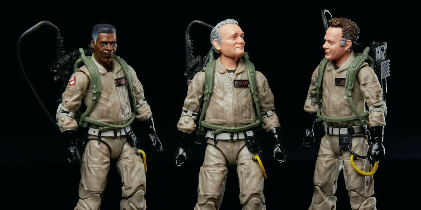 Ghostbusters: Afterlife Toys Unite the Old Squad With the Next Generation - Collider