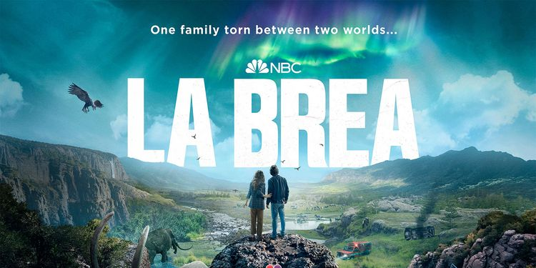 La Brea Posters Reveal the Divide Between Worlds on NBC's New Series