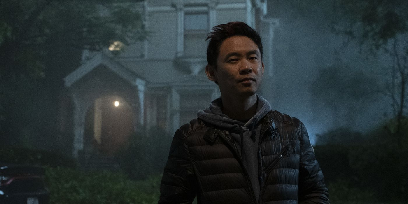 Malignant Behind-the-Scenes Images Reveal James Wan in His Horror Element - Collider