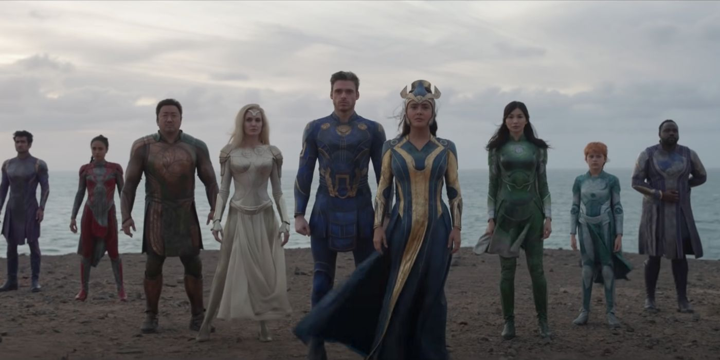 New Eternals Trailer Reveals the Epic Scope of Chloé Zhao's MCU Movie