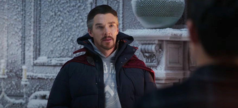 2. Doctor Strange's Winter Attire: