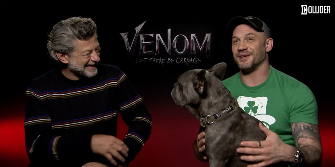 Tom Hardy, His Dog, and Andy Serkis: Venom 2 Fight Scene Discussion