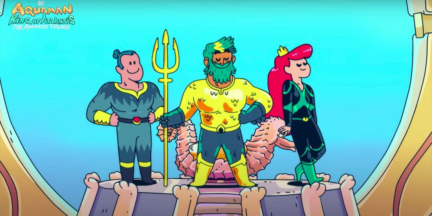 Aquaman King of Atlantis Trailer Reveals Animated HBO Max Series