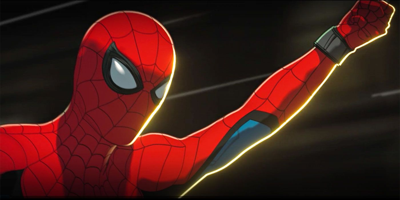 """Spider-Man (Hudson Thames) in """"What If...?"""""""