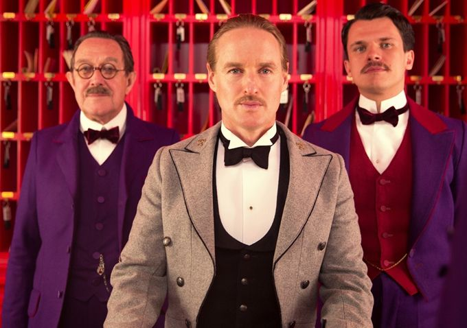 The Grand Budapest Hotel Images Starring Ralph Fiennes Saoirse Ronan And Tony Revolori