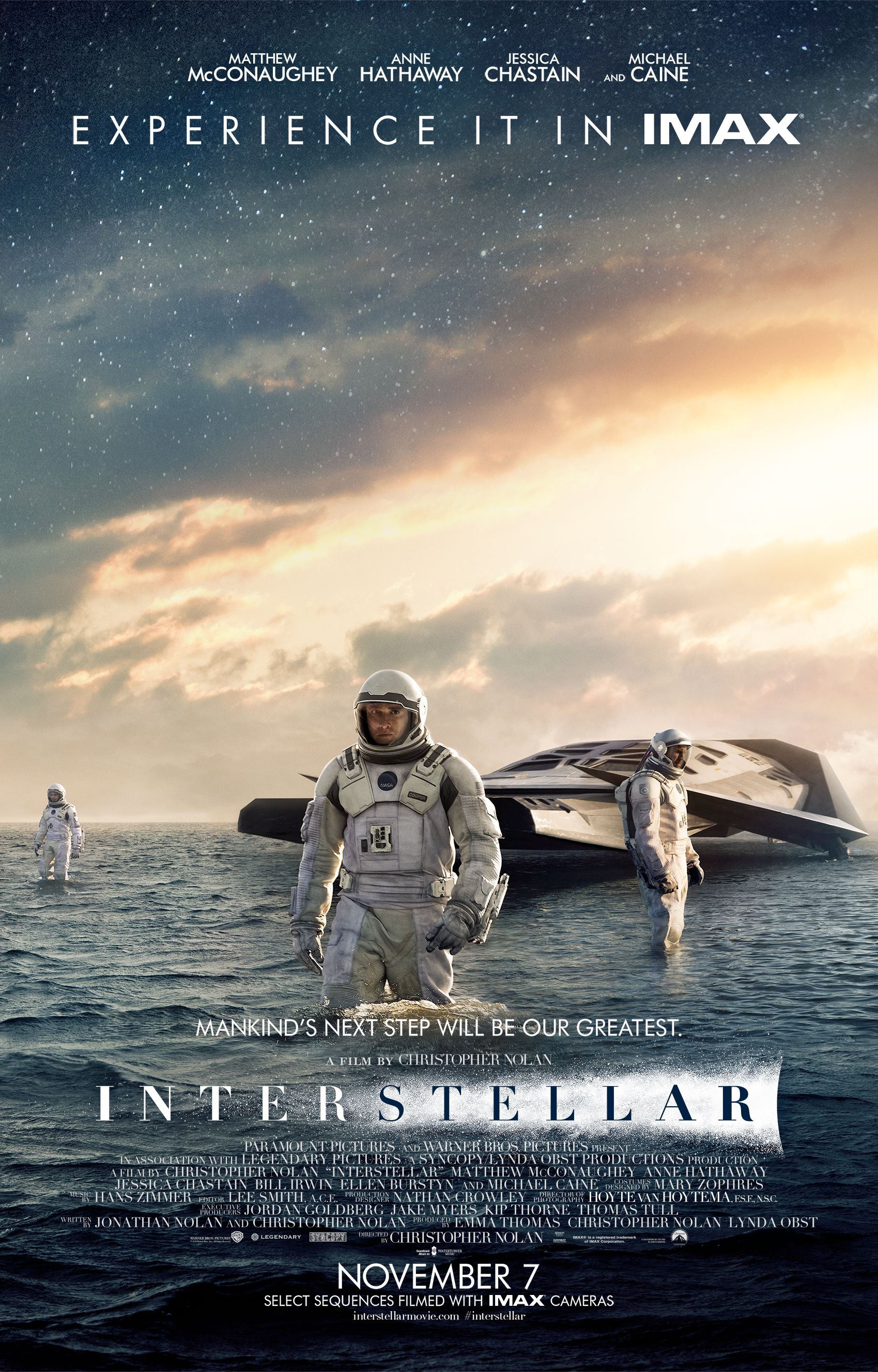 Interstellar to Hit Select Theaters Three Days Early?